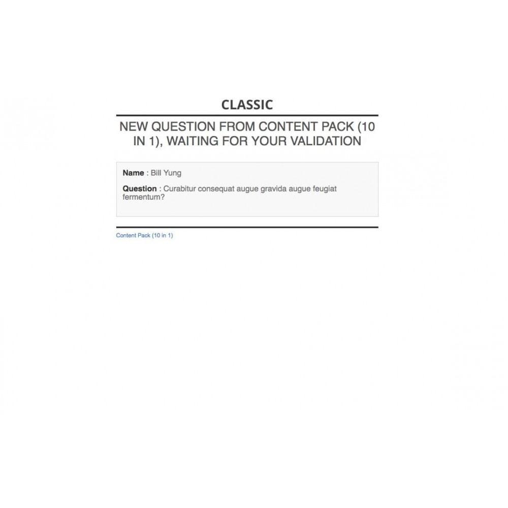 module - Blog, Fórum & Notícias - Content Pack (10 in 1) - 81