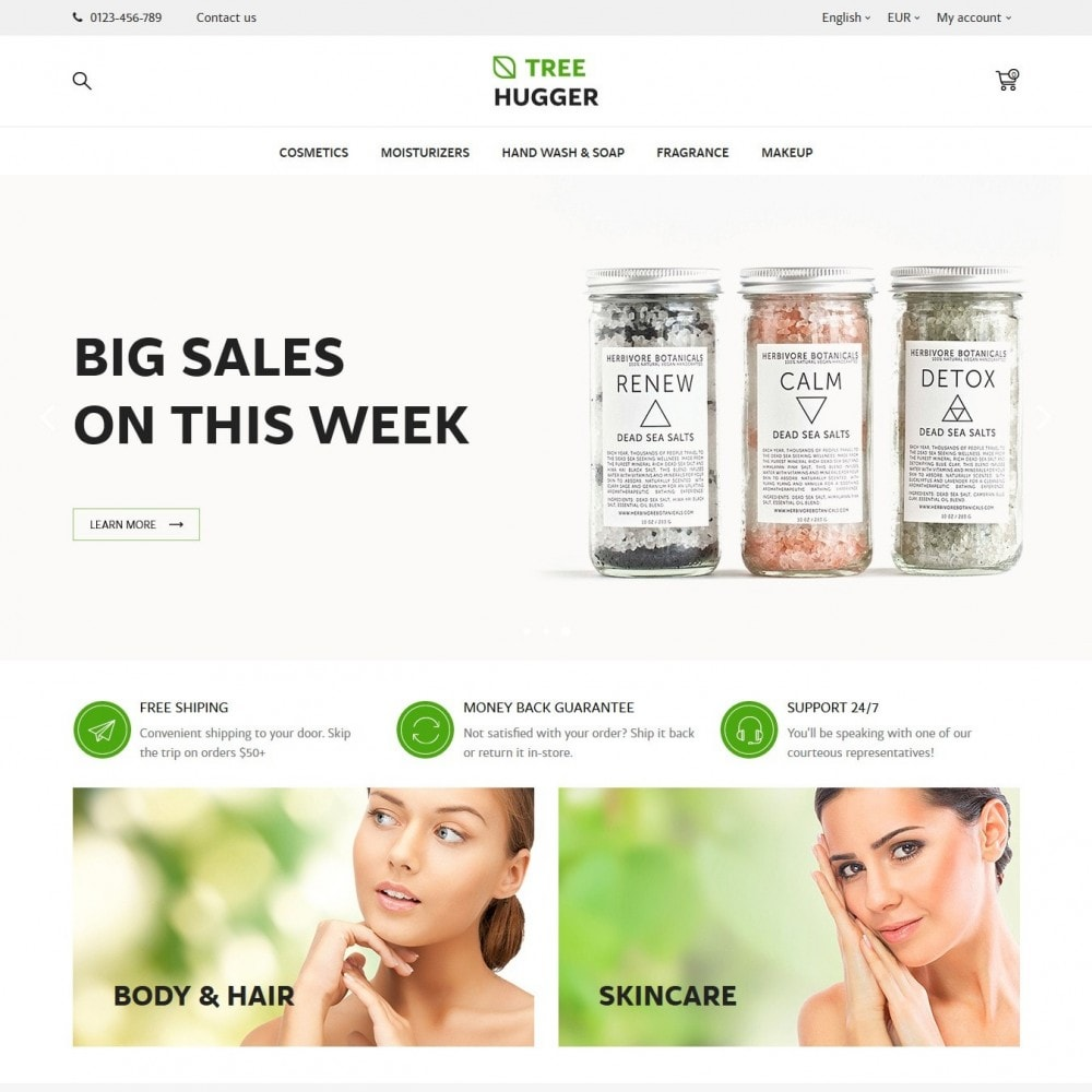 theme - Gesundheit & Schönheit - Tree Hugger Cosmetics - 2