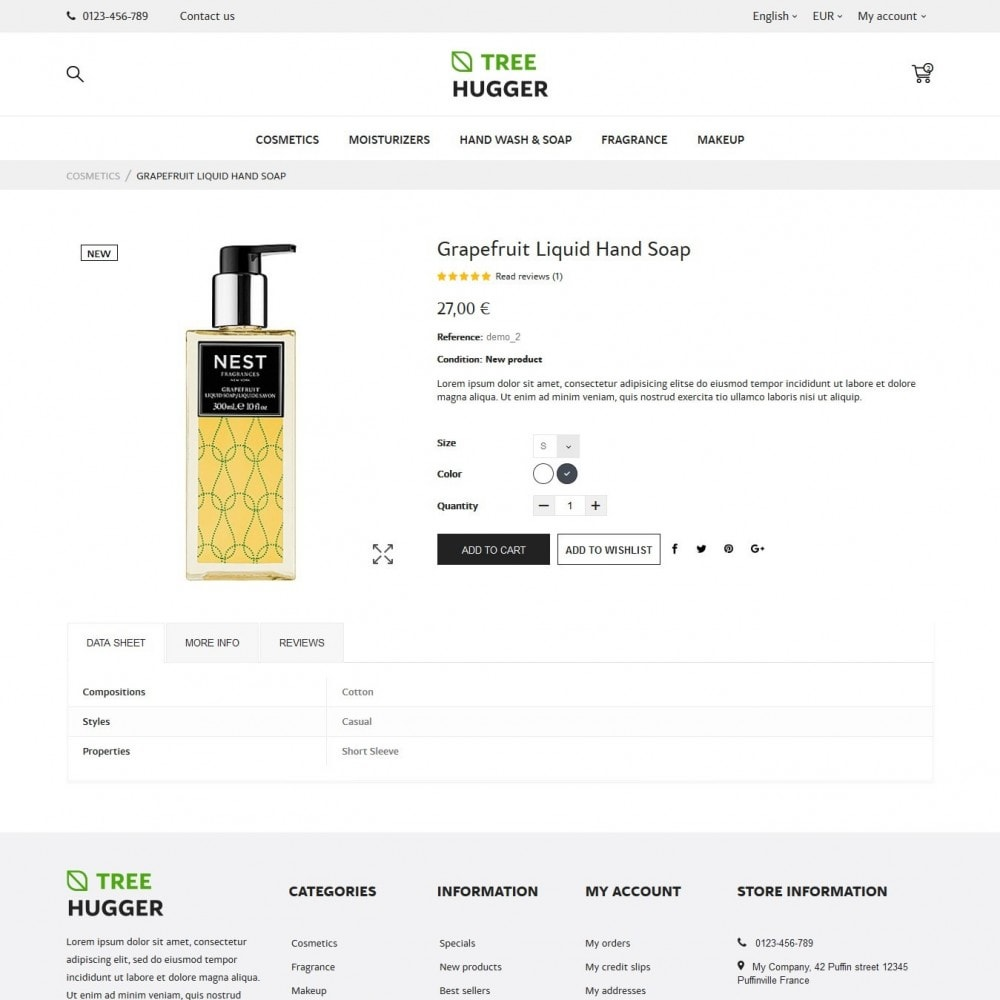 theme - Salute & Bellezza - Tree Hugger Cosmetics - 6
