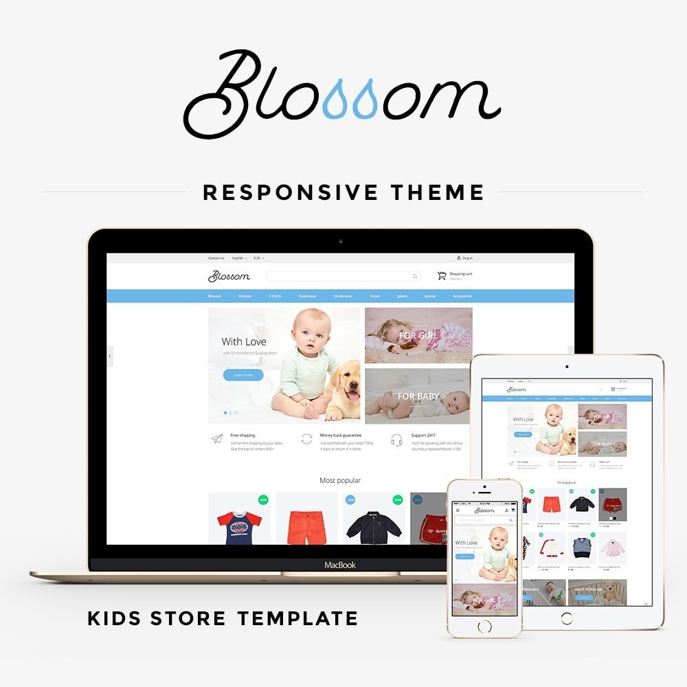 theme - Kinderen & Speelgoed - Blossom - Kids Clothes - 1