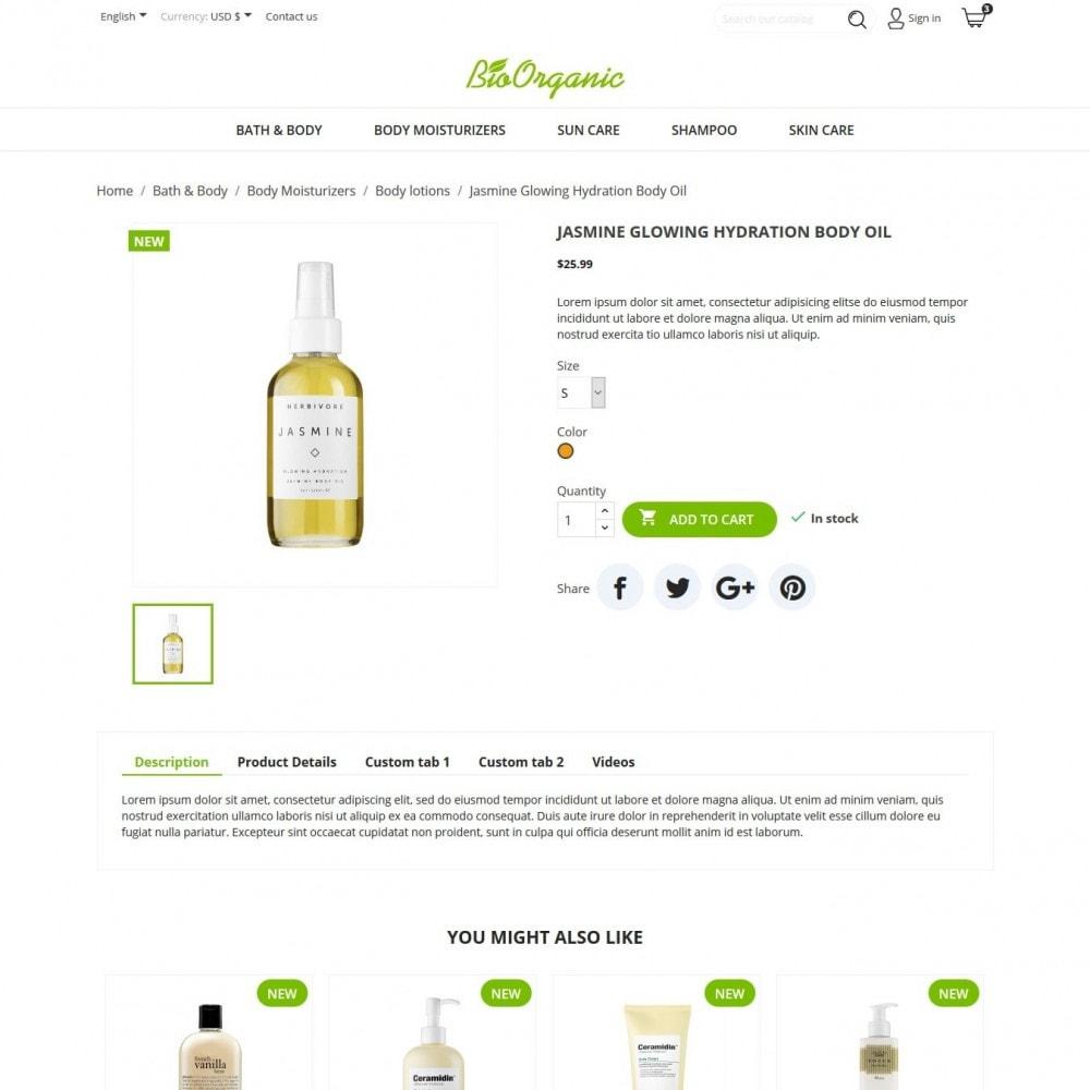 theme - Salud y Belleza - BioOrganic - 5