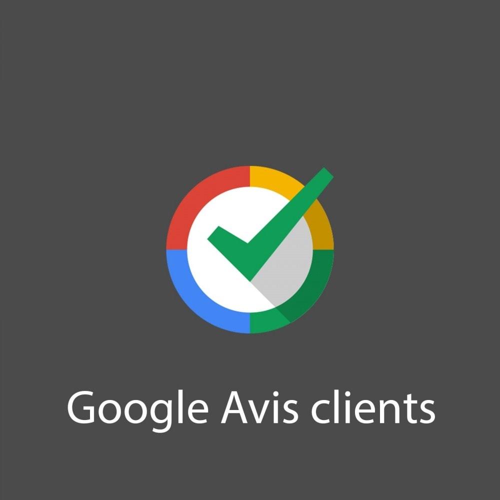 module - Avis clients - Google Avis Clients - 1
