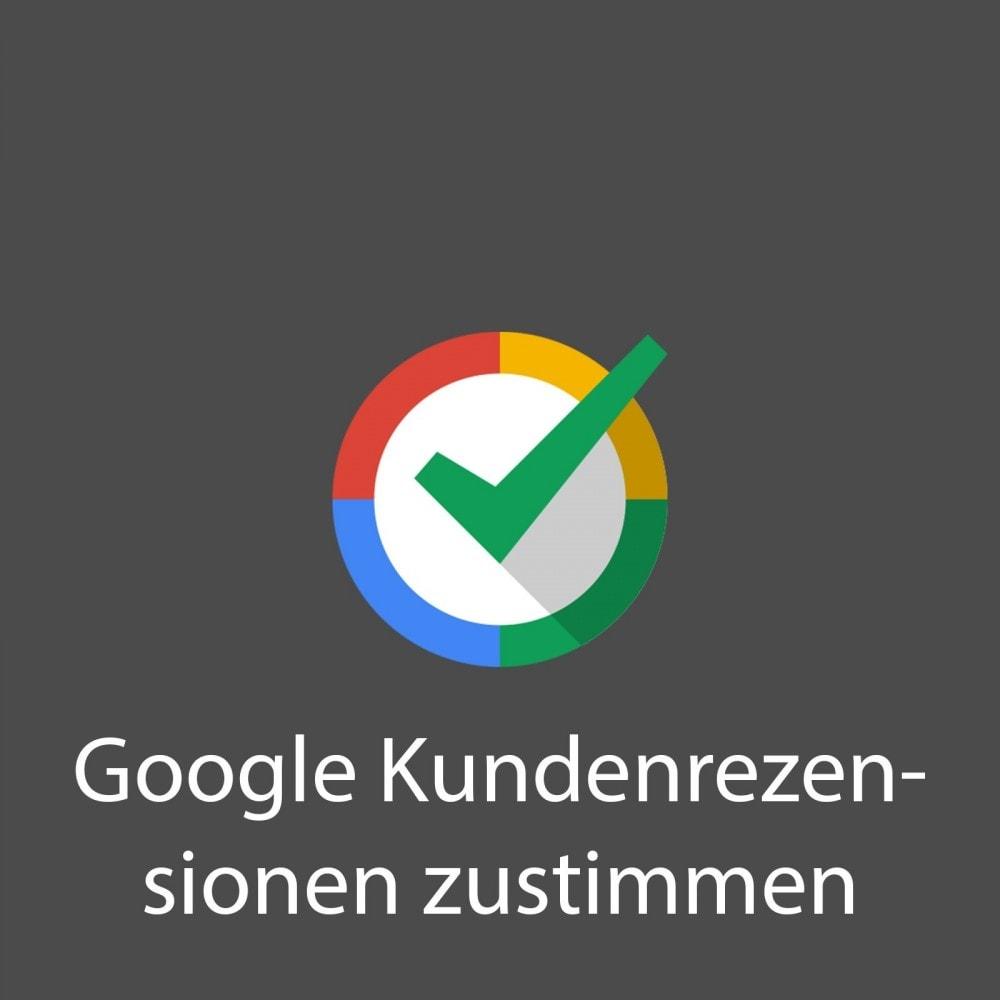 module - Kundenbewertungen - Google Customer Reviews - 1