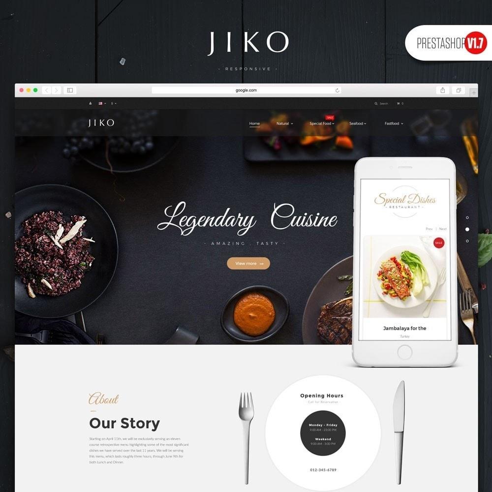 theme - Продовольствие и рестораны - JiKo Food & Drink - 1