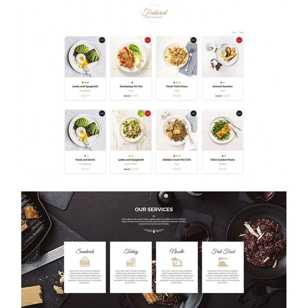 theme - Gastronomía y Restauración - JiKo Food & Drink - 3