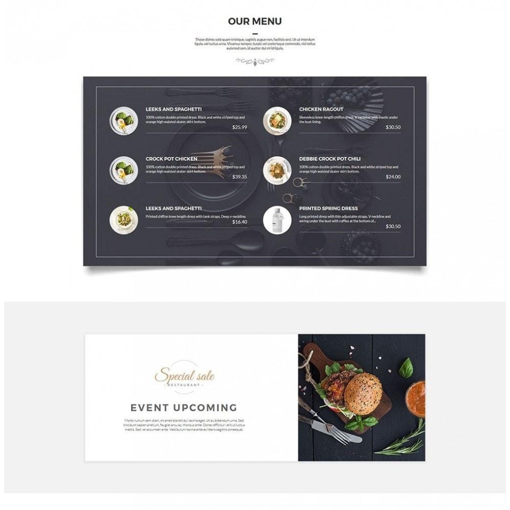 theme - Gastronomía y Restauración - JiKo Food & Drink - 4