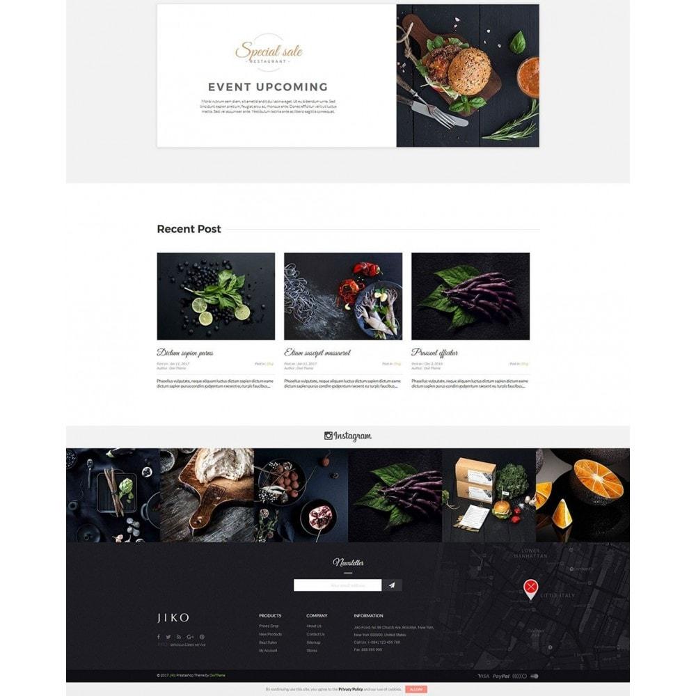 theme - Продовольствие и рестораны - JiKo Food & Drink - 5
