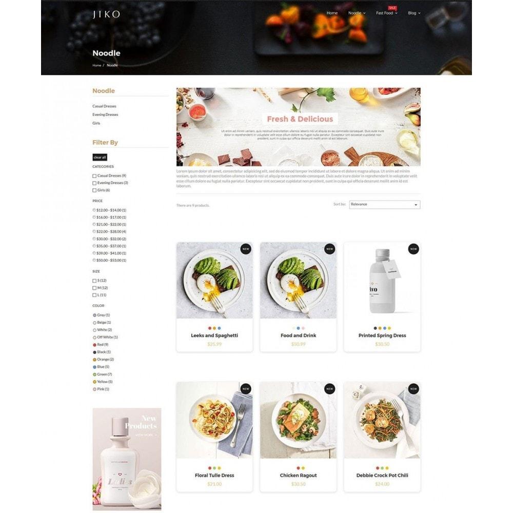 theme - Продовольствие и рестораны - JiKo Food & Drink - 6