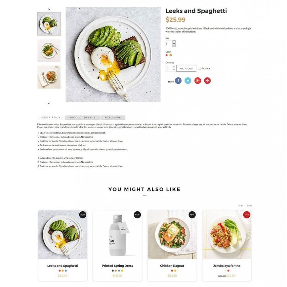 theme - Gastronomía y Restauración - JiKo Food & Drink - 7