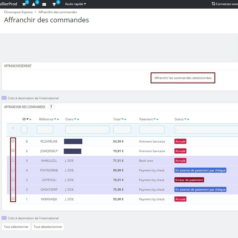 module - Preparazione & Spedizione - Chronopost API - 3