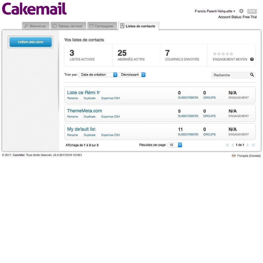 module - Newsletter & SMS - Cakemail (non officiel) - 6