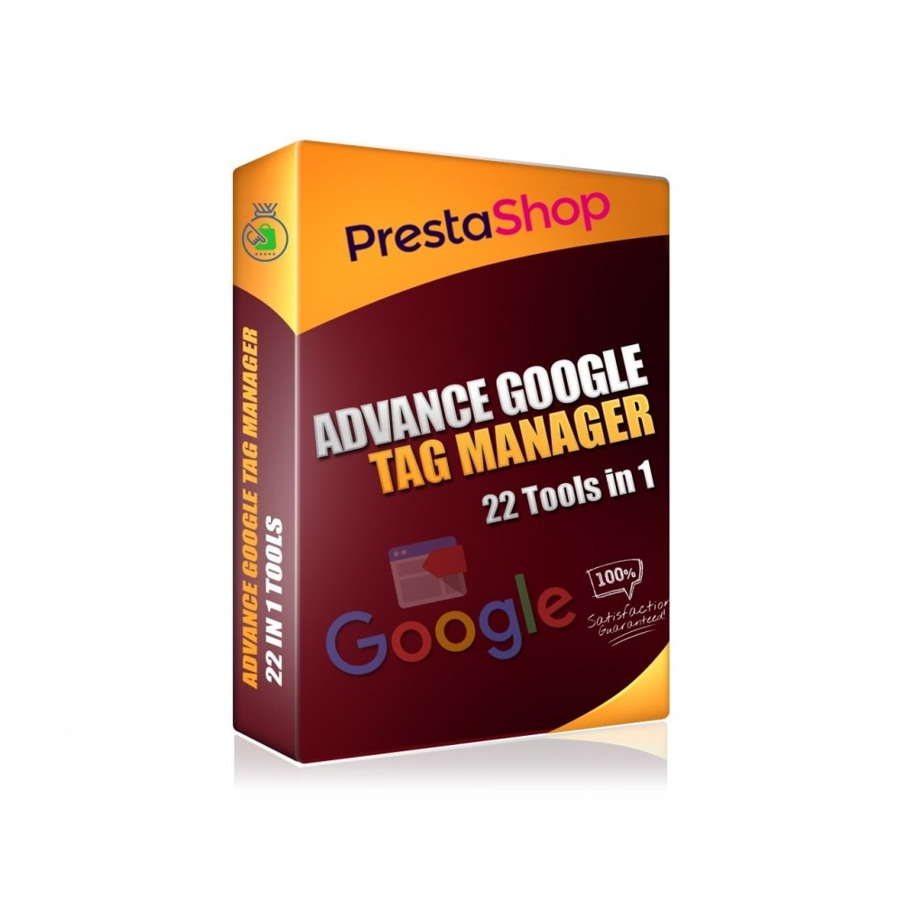 module - Analyses & Statistieken - Advance Google Tag Manager - PRO - 1