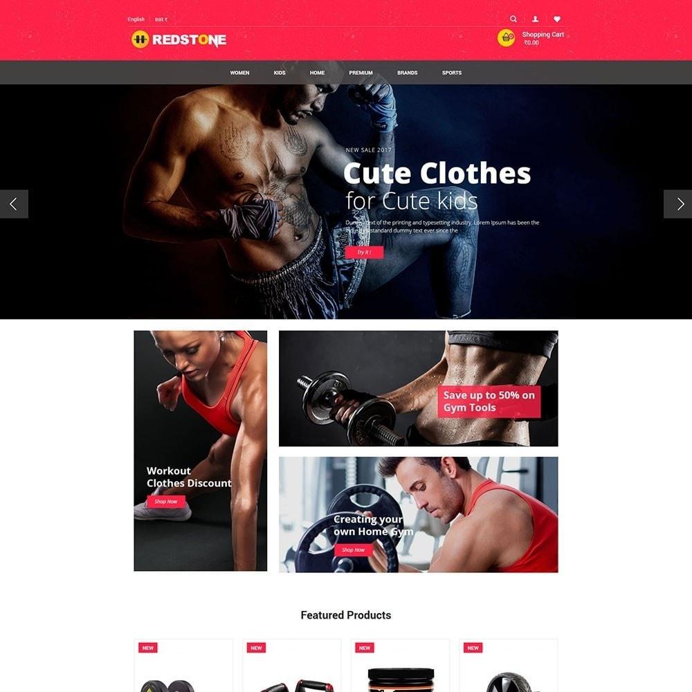 theme - Sport, Attività & Viaggi - Gym   Multipupose Store - 2