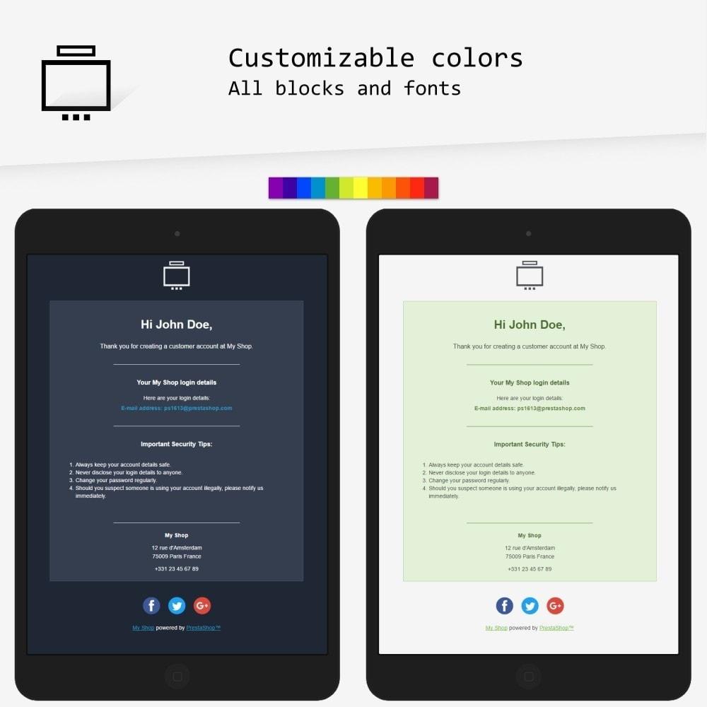 email - E-mailtemplates van PrestaShop - Minimalist - Email templates - 2