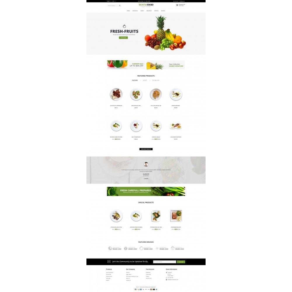 theme - Eten & Restaurant - TestyFood - 2