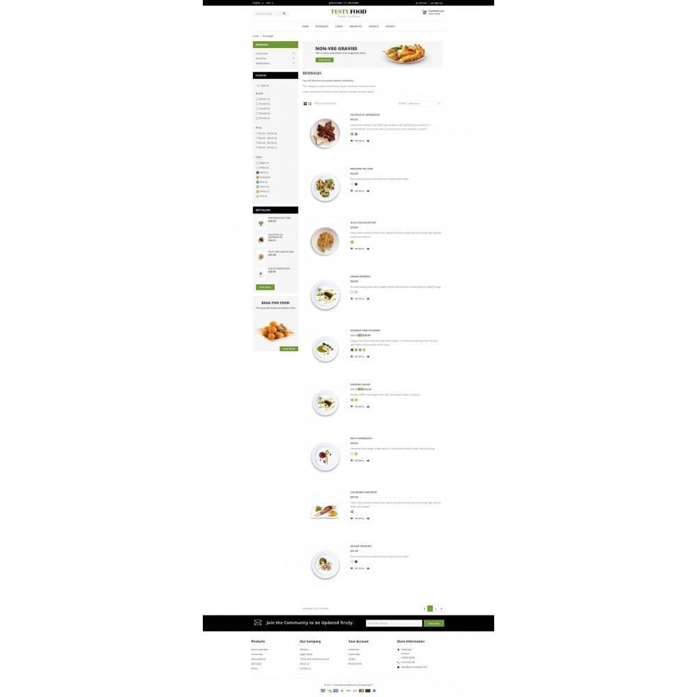 theme - Eten & Restaurant - TestyFood - 4