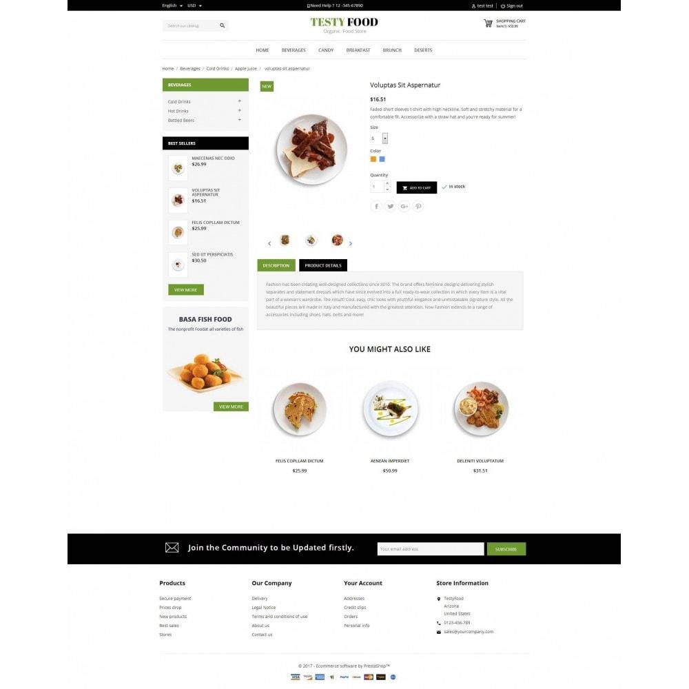 theme - Eten & Restaurant - TestyFood - 5