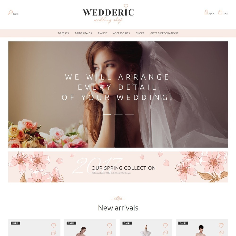 theme - Gifts, Flowers & Celebrations - Wedderic - Wedding Shop - 4