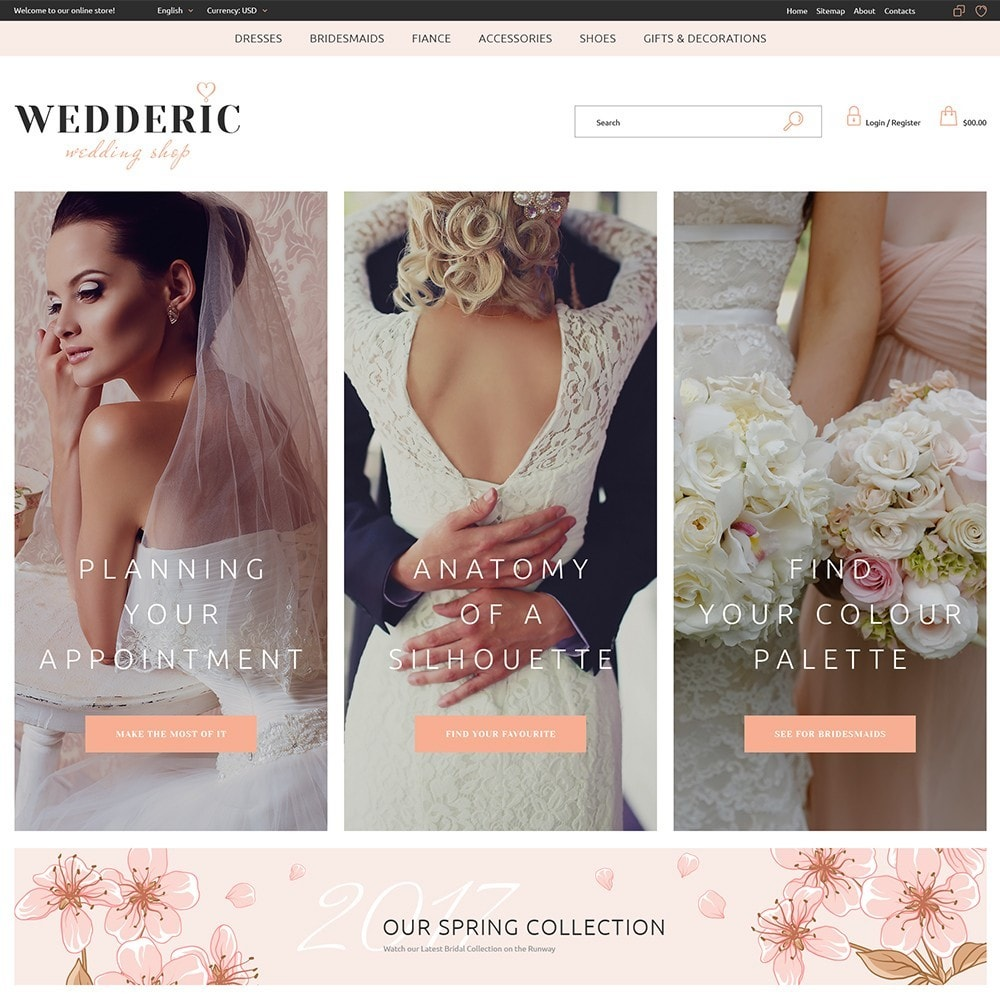 theme - Gifts, Flowers & Celebrations - Wedderic - Wedding Shop - 5