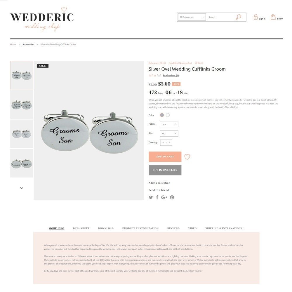theme - Gifts, Flowers & Celebrations - Wedderic - Wedding Shop - 8