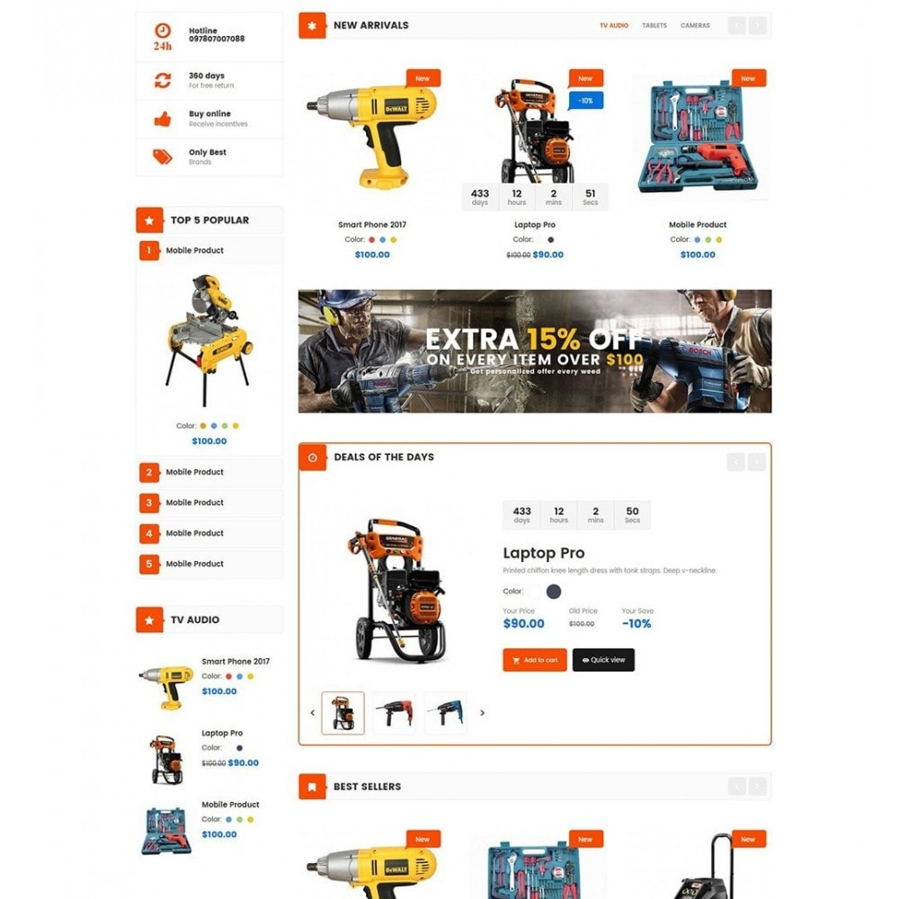 theme - Carros & Motos - Tools Store - 3