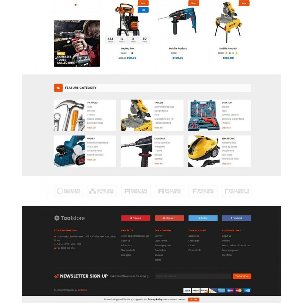theme - Carros & Motos - Tools Store - 4
