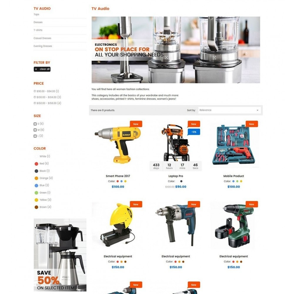 theme - Carros & Motos - Tools Store - 5