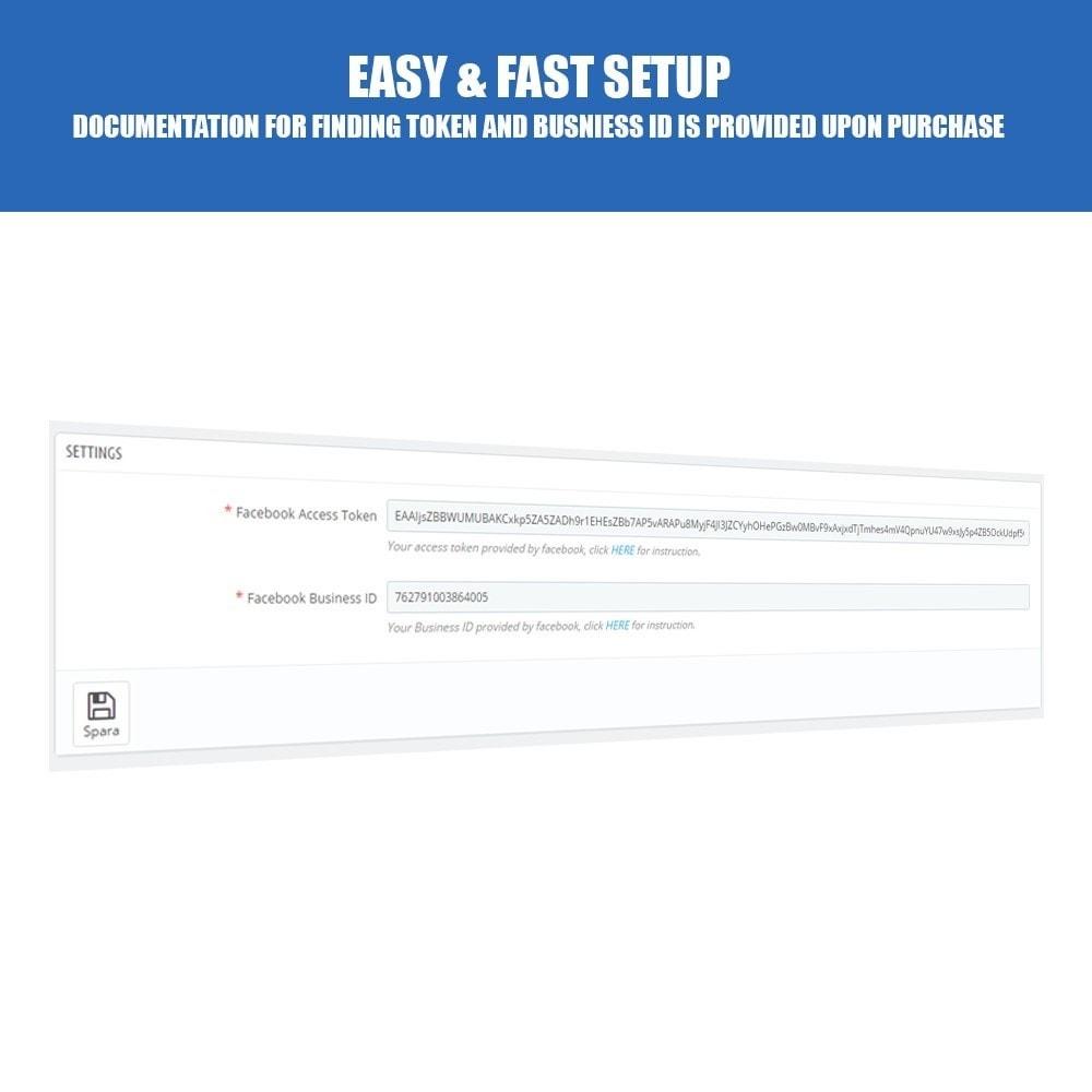 module - Produtos nas Facebook & Redes Sociais - Export Your Product Catalog for Dynamic Ads - 2