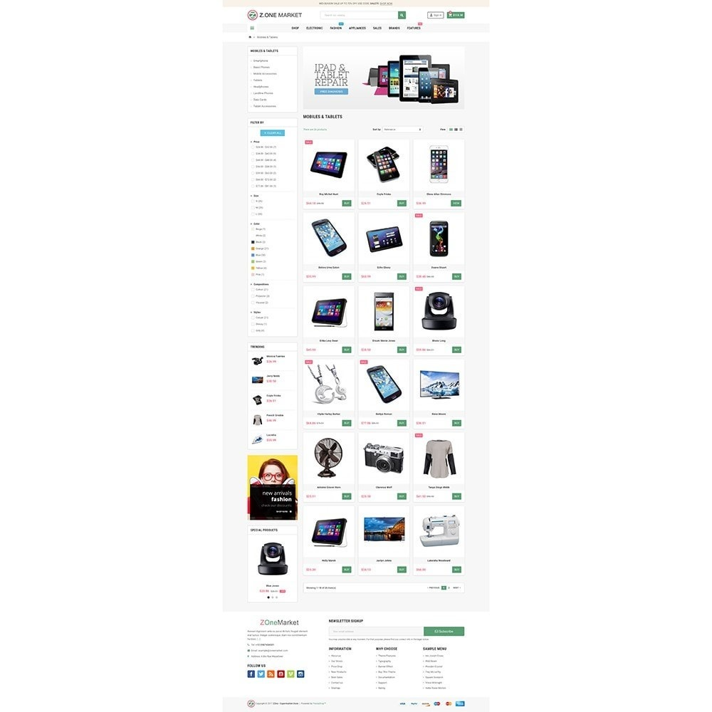 theme - Eletrônicos & High Tech - ZOne - Supermarket Online Shop - 3