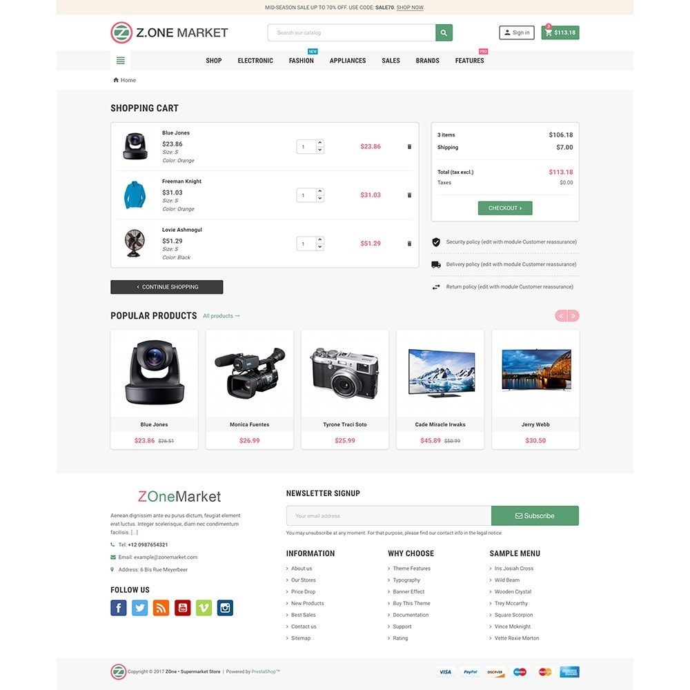 theme - Eletrônicos & High Tech - ZOne - Supermarket Online Shop - 7