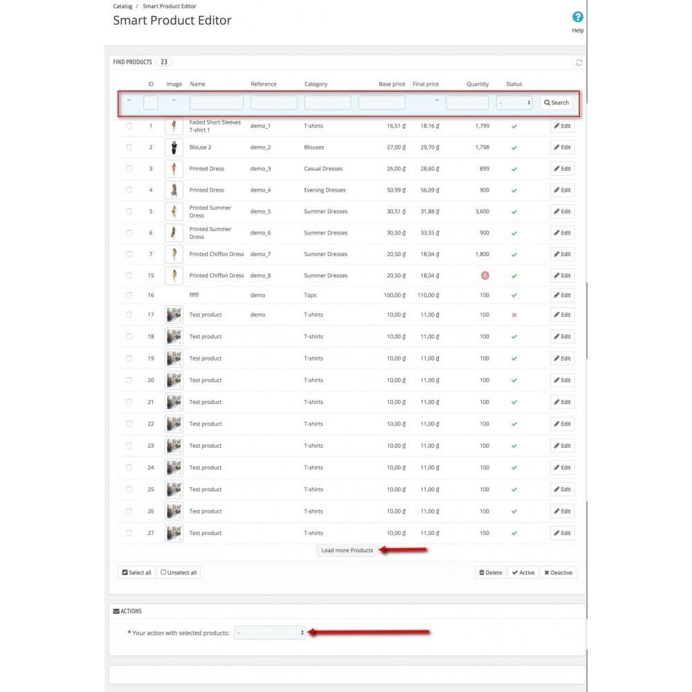 module - Быстрое & массовое редактирование - Smart Product Editor - 1