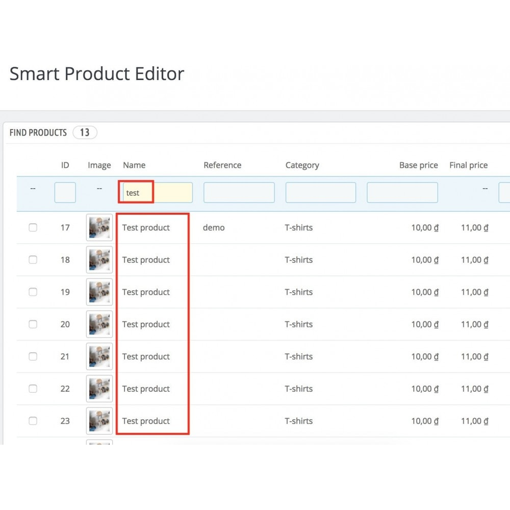 module - Szybkie & Masowe edytowanie - Smart Product Editor - 4