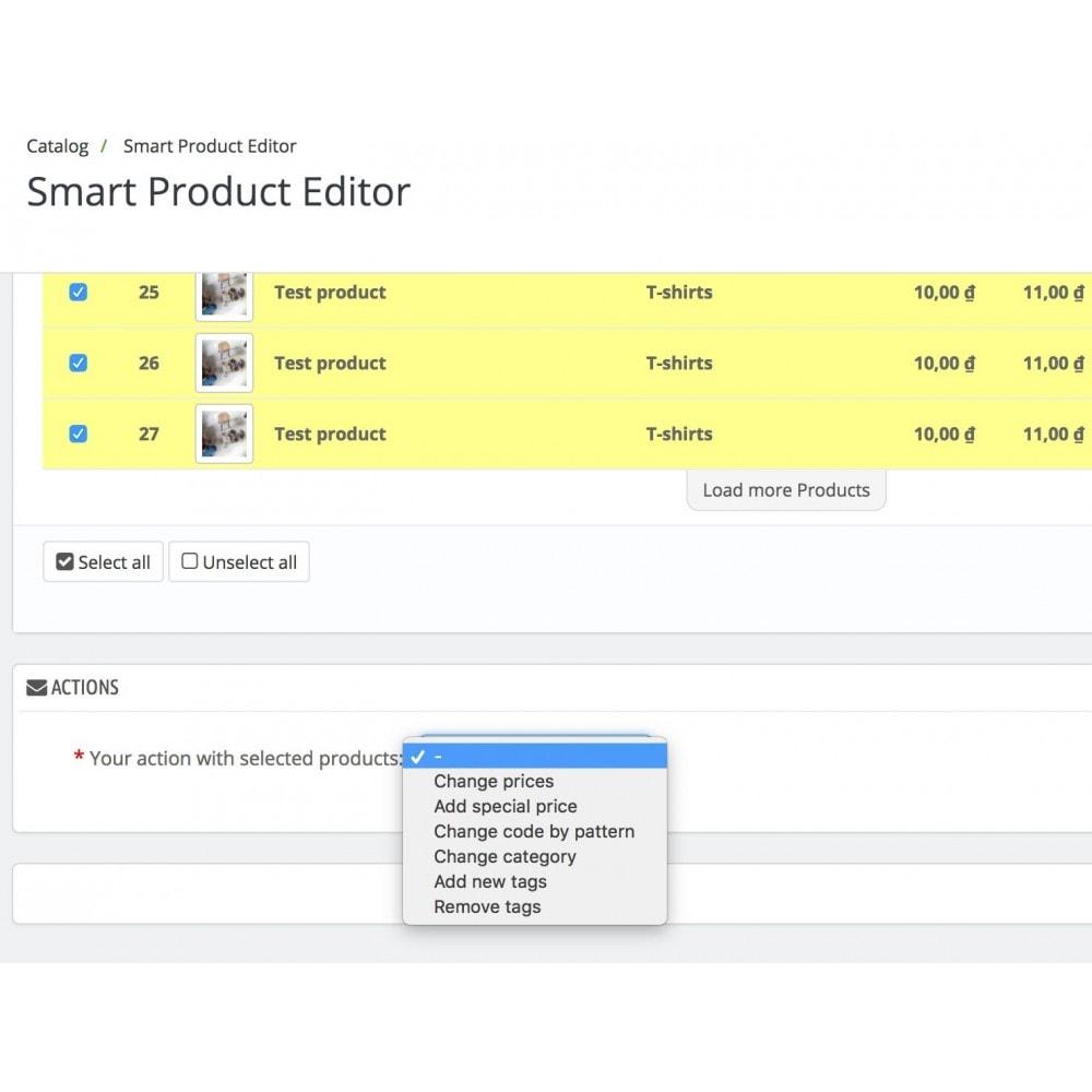 module - Быстрое & массовое редактирование - Smart Product Editor - 6