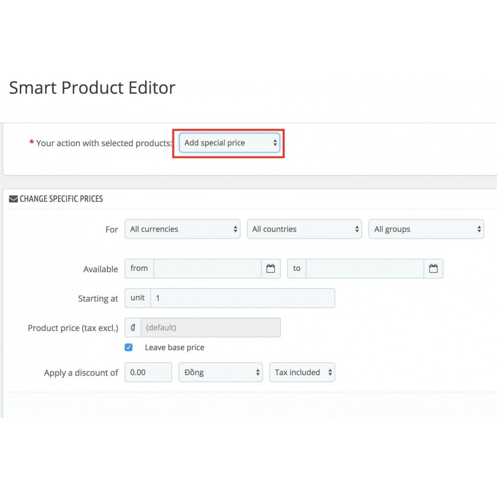 module - Быстрое & массовое редактирование - Smart Product Editor - 7