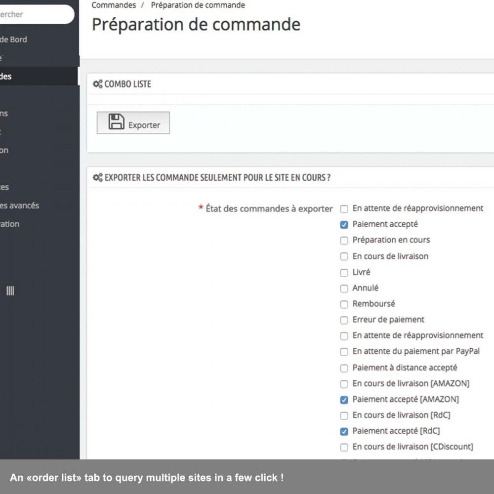 module - Gestione Ordini - Multisite order preparation list - 3