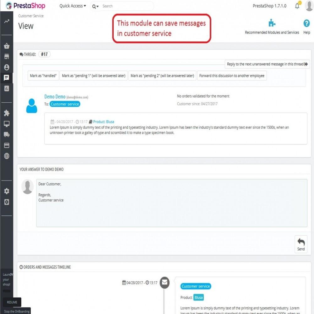 module - Kontaktformular & Umfragen - Block Contact Form Product - 7