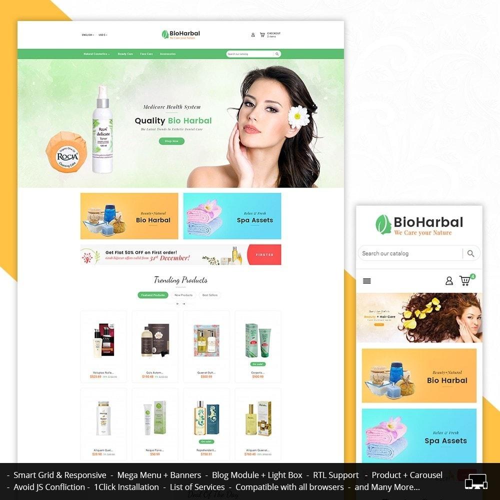 theme - Salute & Bellezza - Bio Cosmetics Store - 1