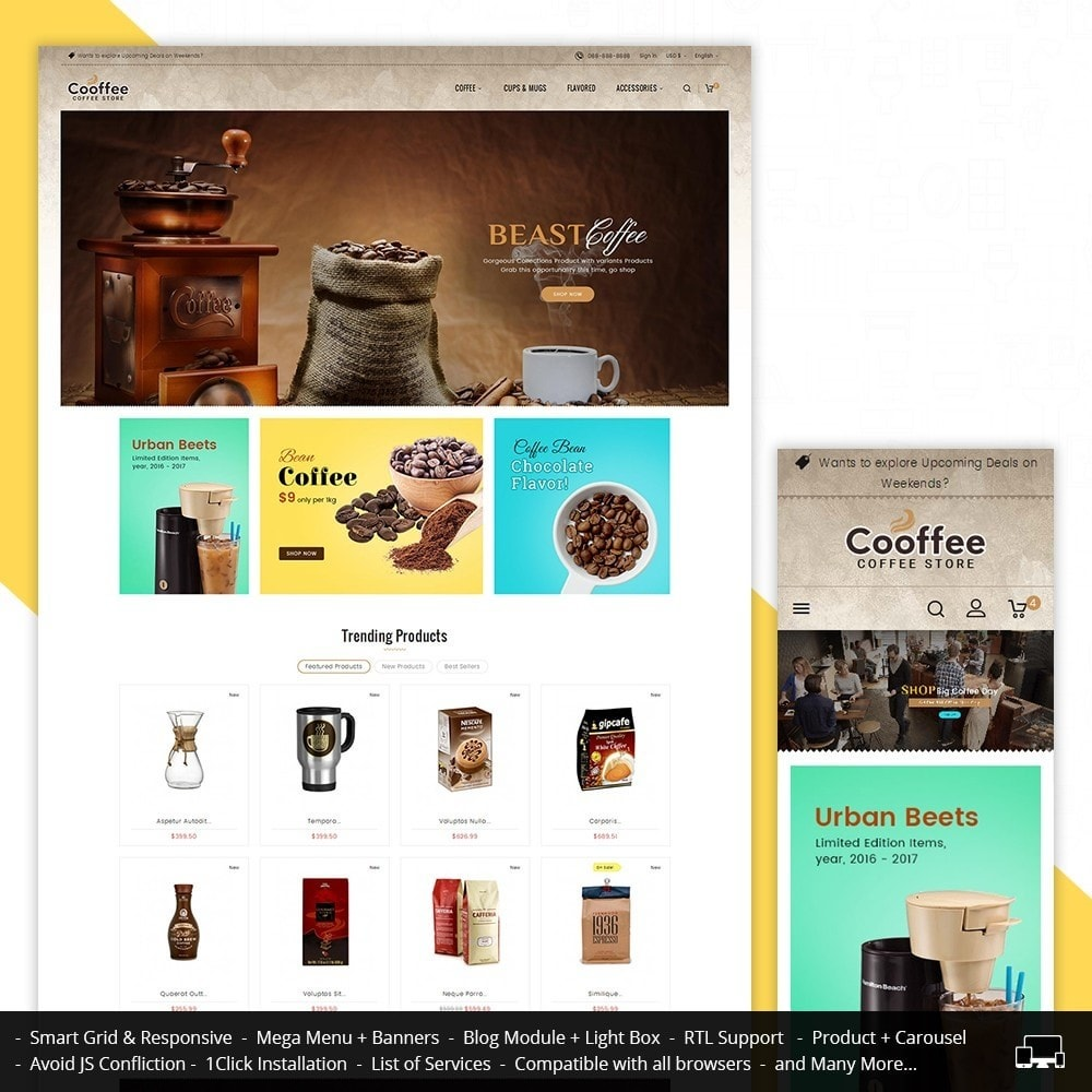 theme - Drank & Tabak - Cold Coffee Store - 1
