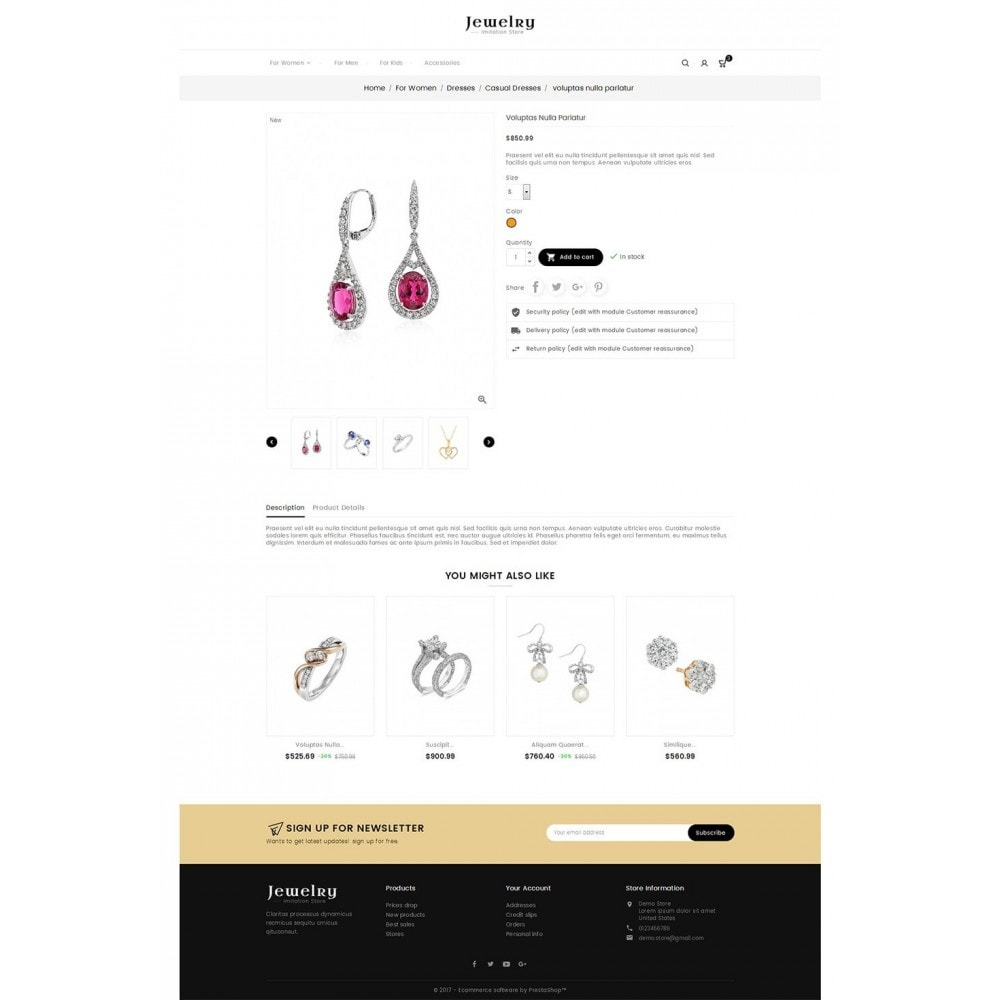 theme - Sieraden & Accessoires - Jewelry Store - 5