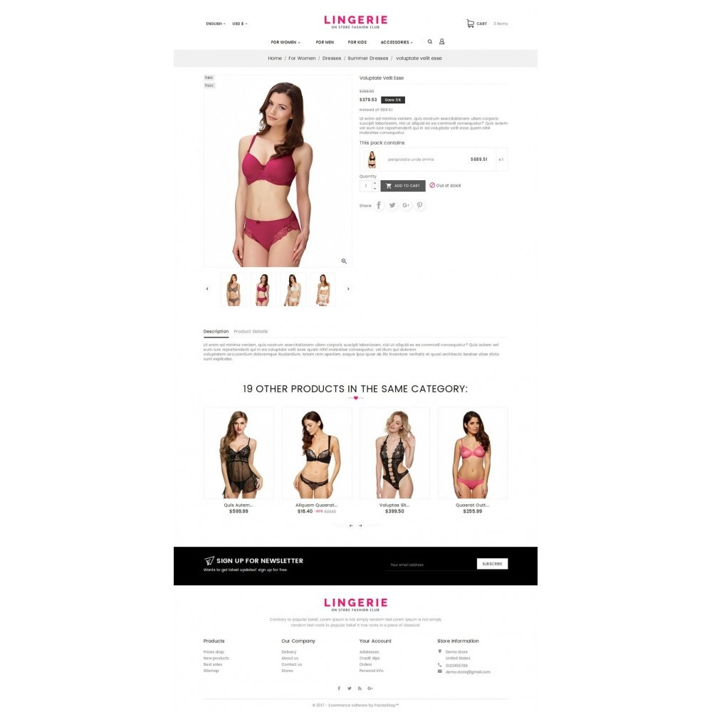 theme - Lingerie & Adultos - Lingerie Shop - 5