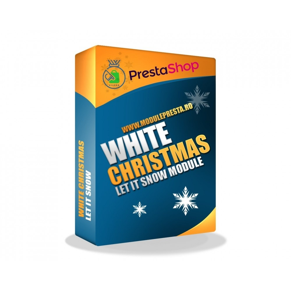 module - Personalisering van pagina's - White Christmas - 2