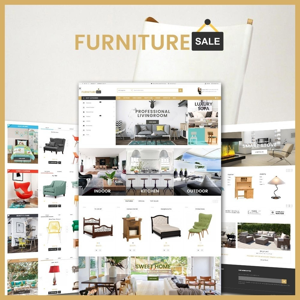 theme - Home & Garden - Furniture Save Showroom - 1