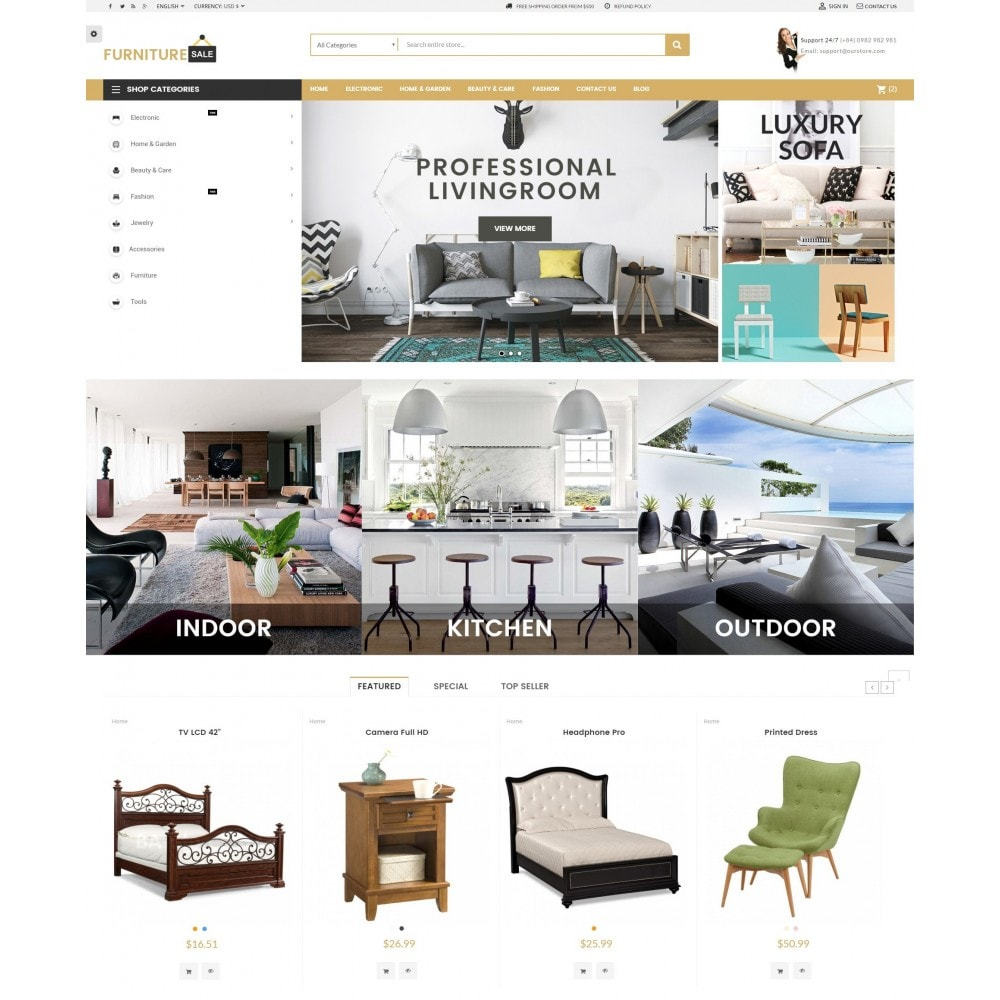 theme - Home & Garden - Furniture Save Showroom - 2