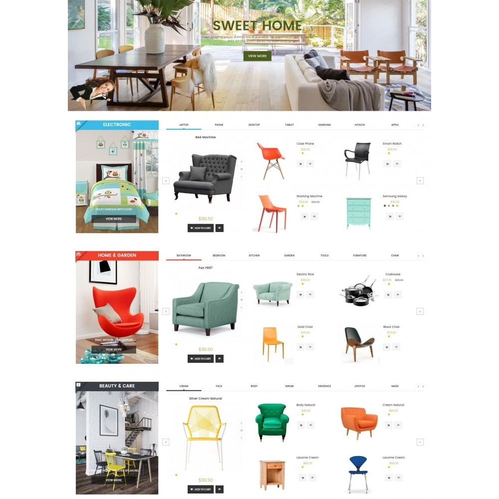 theme - Home & Garden - Furniture Save Showroom - 3