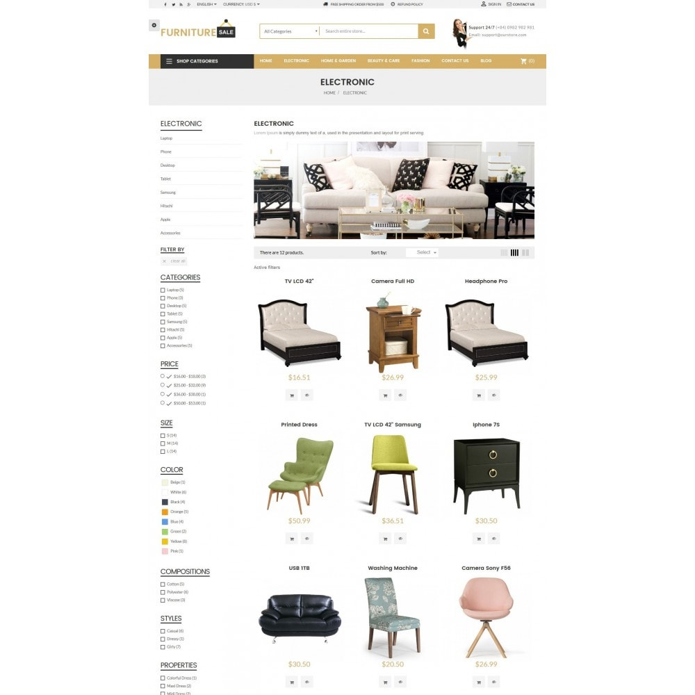 theme - Home & Garden - Furniture Save Showroom - 5