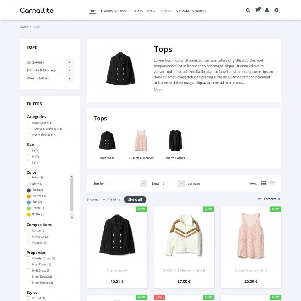 theme - Fashion & Shoes - Carnalitte Fashion Store - 5