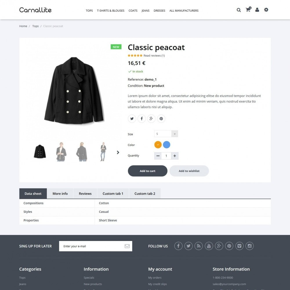 theme - Fashion & Shoes - Carnalitte Fashion Store - 7