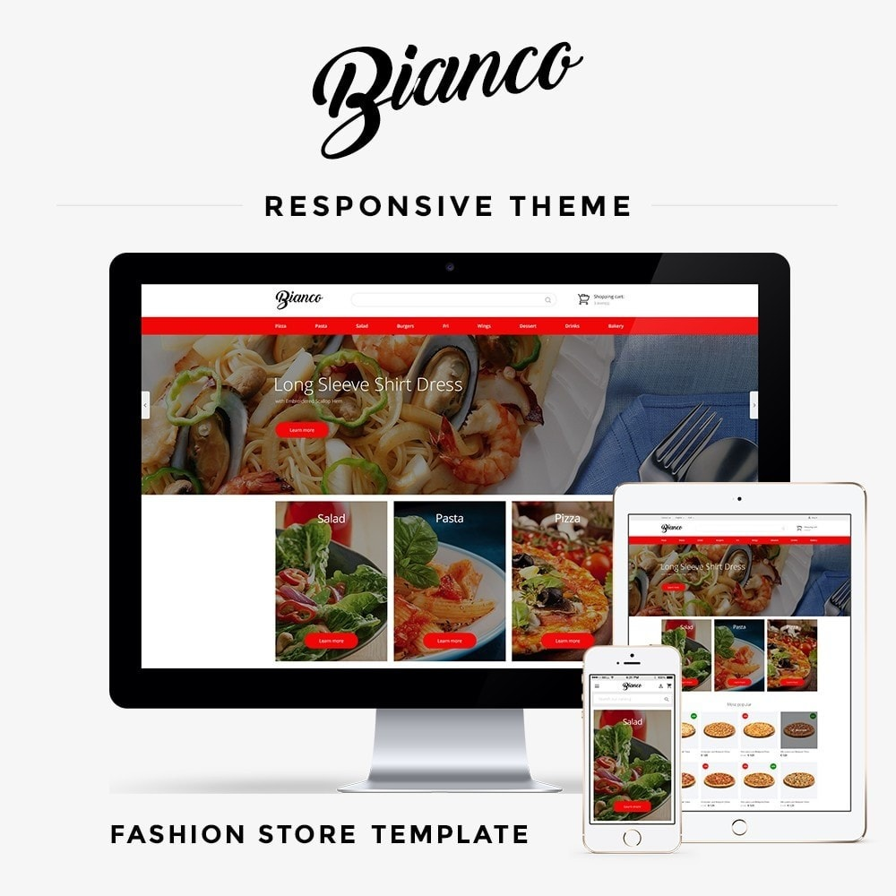 theme - Alimentation & Restauration - Bianco - 1