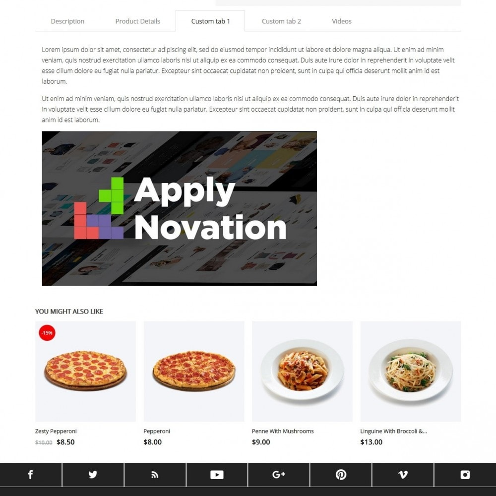 theme - Alimentation & Restauration - Bianco - 9