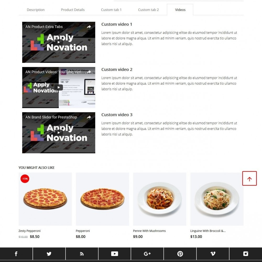 theme - Alimentation & Restauration - Bianco - 10